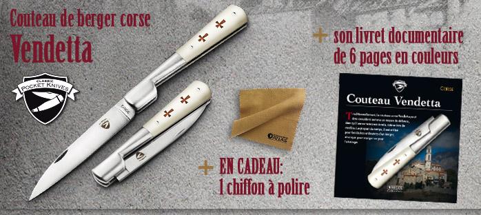 "Comprati un ""couteau de berger corse"" à 4,99 €"