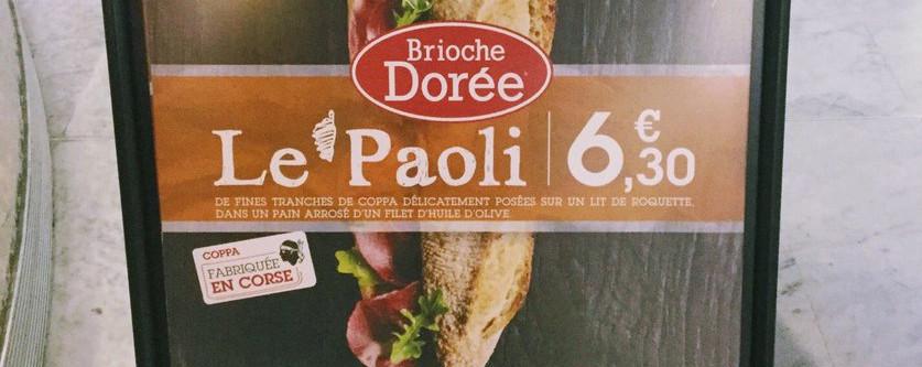 """Evviva, hè natu u sandwich """"Le Paoli"""""""