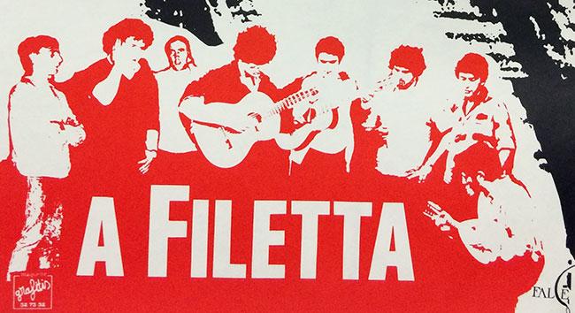 Illustrazione : affissu di A Filetta di l'anni 80, cullezzione di l'Adecec