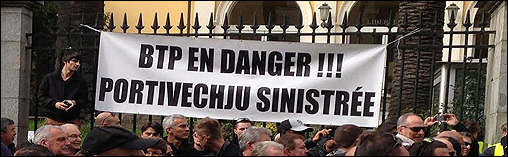 Trova un slogan per a manifestazione di u BTP