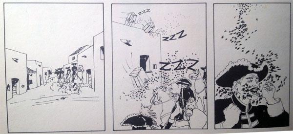 14 di ghjennaghju di u 1732, a battaglia di l'ape di Calinzana