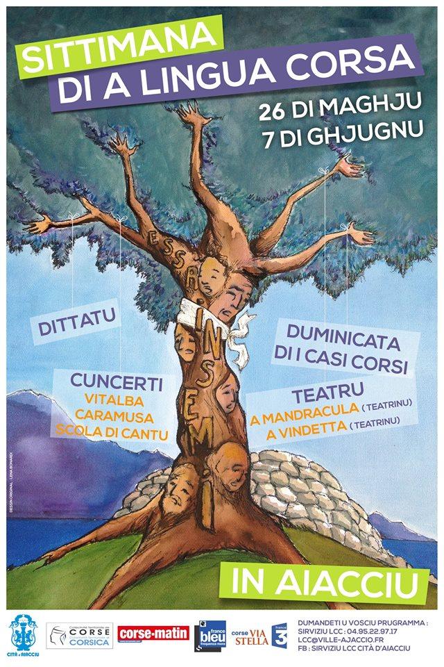 A settimana di a lingua in Aiacciu
