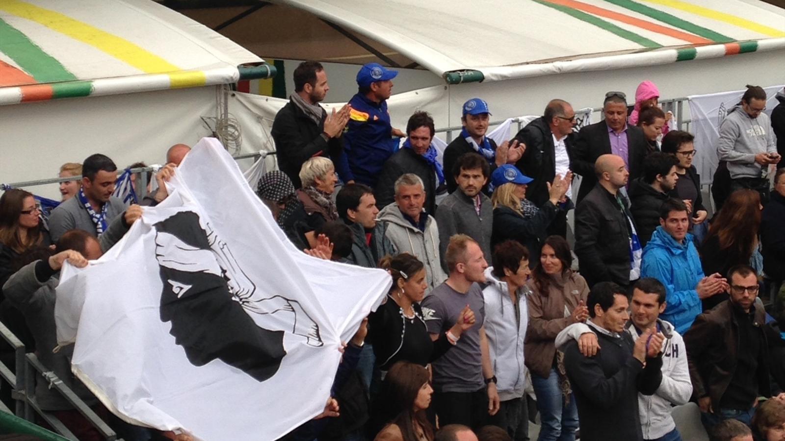 C'era una Tribune Est à Roland Garros