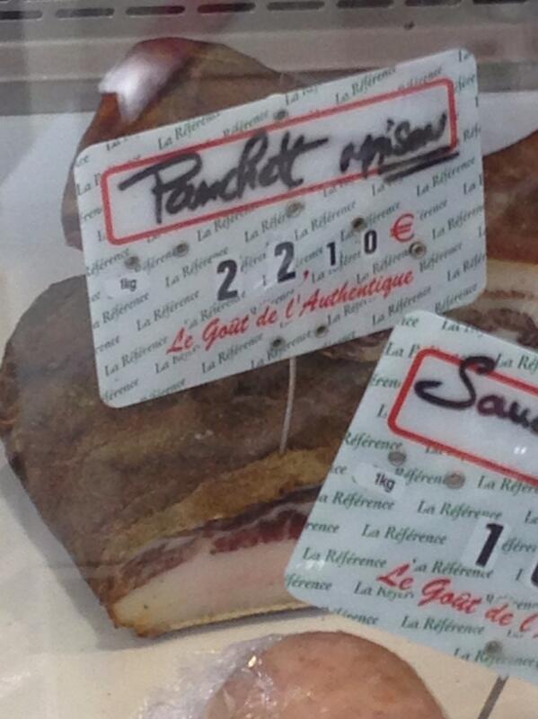 """In Portitch si manghja a """"panchett"""""""