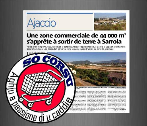 A Corsica averà infine u so centrone cummerciale tamantu... è a so cità ingiru.