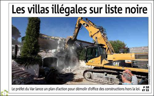 U prefettu s'attacca à e custruzzioni illegali (ma micca in Corsica)