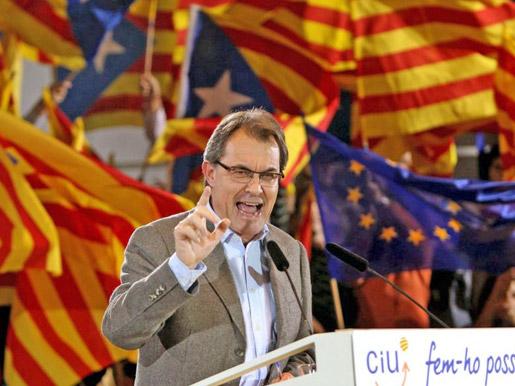 U presidente Artur Mas