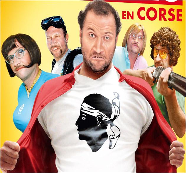 François Damiens in Corsica