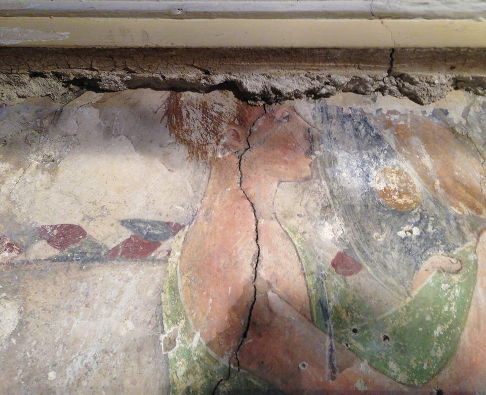A bellezza di e pitture à l'affrescu d'Omessa