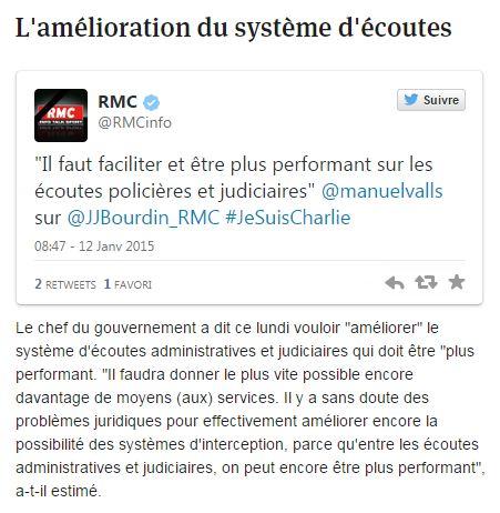 Pronti per un Patriot Act francese ?