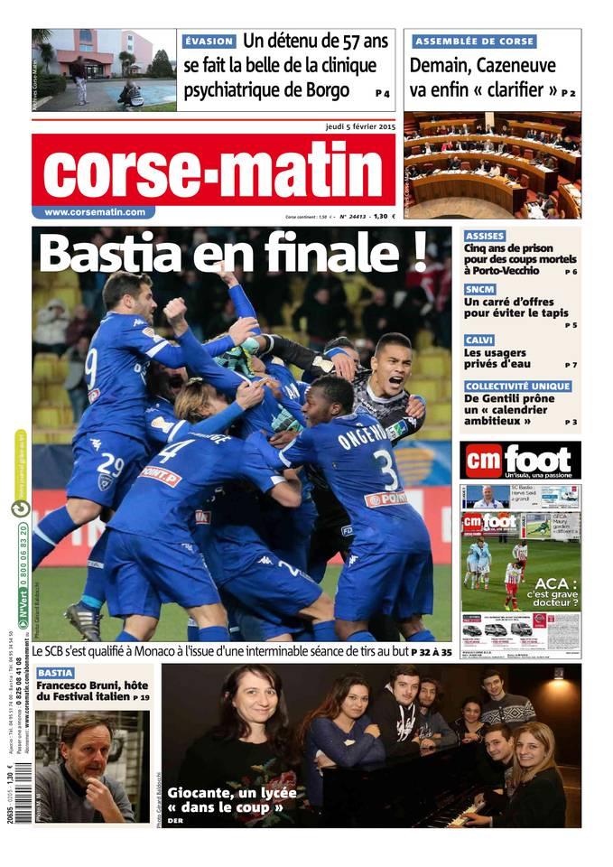 Bastia in finale : rivista di web