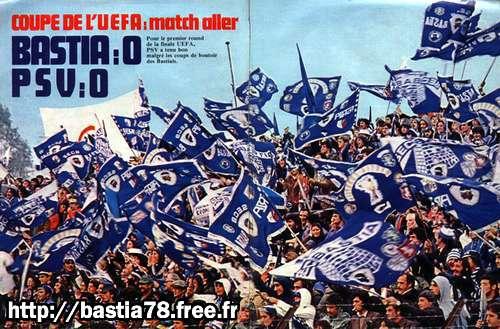 E cinque finale di Bastia