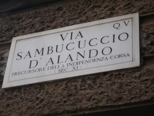 Roma, cità corsa !