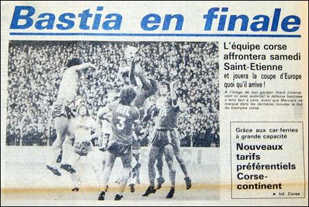 13 di ghjugnu di u 1981 : a cuppa hè nostra !