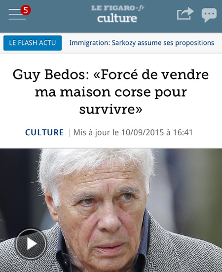 Salvemu à Guy Bedos