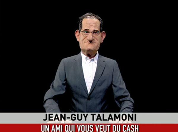 Jean-Guy hà a so mariunetta à i Guignols