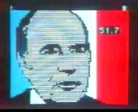mitterrand, 1981, presidente, francia, elezzione, ritrattu,
