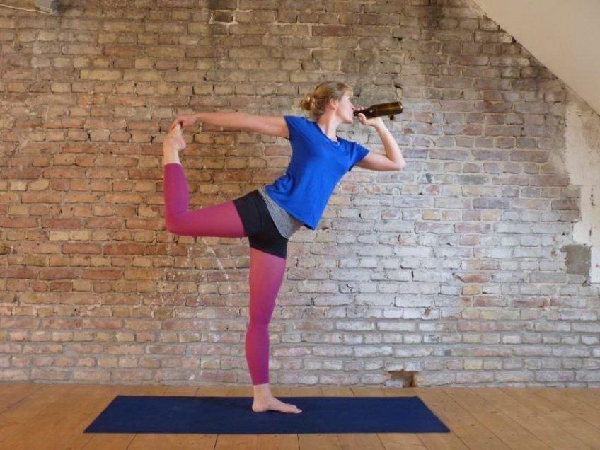 Uyogà-pompetta(yogà+biera)serà l'affarone di a statina