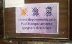 In Roma, pokemons fora