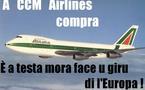 A CCM Airlines s'hà cumpratu Alitalia !