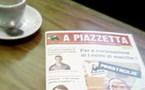 È avà, A Piazzetta diventa dinù un giurnale...