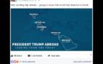 Donald Trump manda a Corsica in Italia