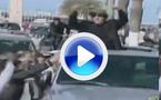Kadhafi festighjeghja a ricullata di u Sporting è flamba in 4x4