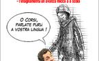 Sarkozy è a lingua corsa