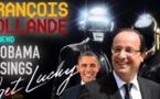 "François Hollande canta ""Get Lucky"" di Daft Punk"
