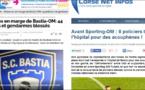Bastia - OM : 44 feriti d'appressu à a pulizza, 8 d'appressu à i giurnalisti