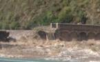 Ponte Novu sott'à l'acqua