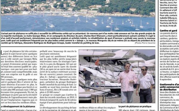 Quandu Corse-Matin diventa u ghjurnatante di Mr Rodriguez è di Mr Mela...
