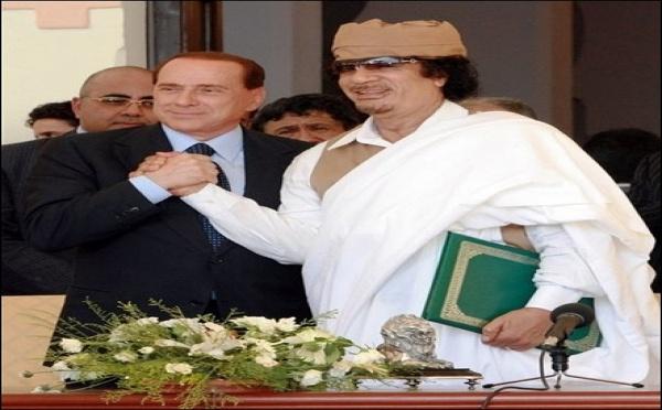 E scuse di l'Italia à a Libia. È a Francia?
