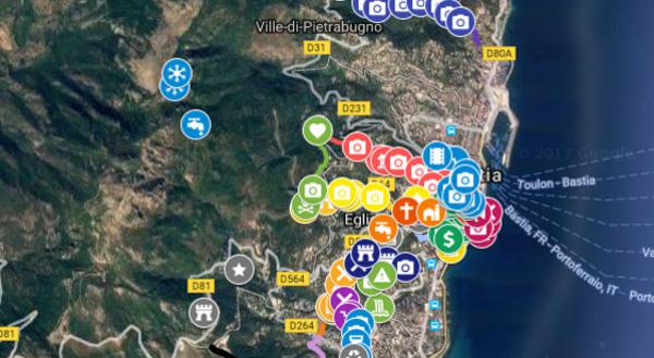 Una carta di i chjassi di Bastia
