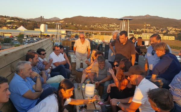 I ministri sò venuti in vacanze in Corsica è semu cuntenti per elli