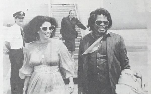 Aghju vistu à James Brown in Fiumorbu