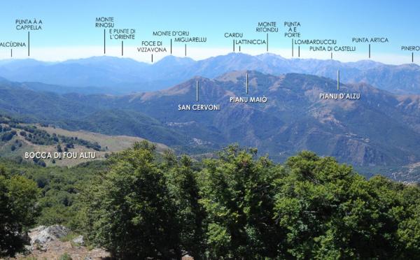Ciò ch'ellu si vede da a cima di San Petrone