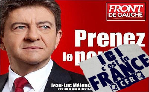 Mélenchon, u ritornu di a CFR