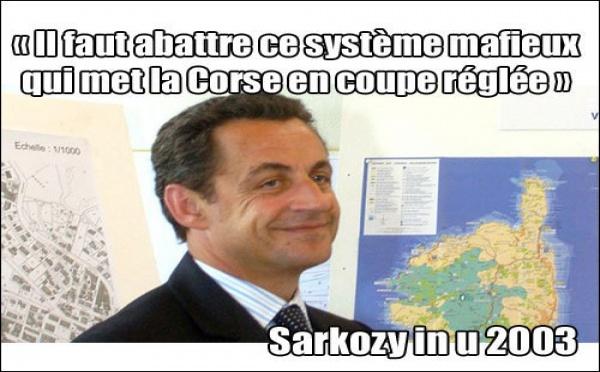 Chì serà a bugia di Sarkozy quist'annu ?