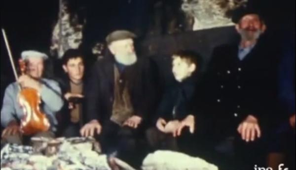 Natale in Corsica in u 1968