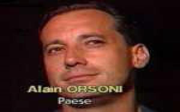Alain Orsoni, cum'è s'ellu ùn ci fussi statu nunda...